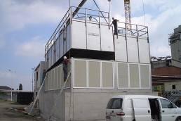 Planung zum Bau einer neuen zentralen Rückkühlanlage.