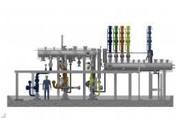Planungen zum Umbau einer bestehenden Thermalölstation